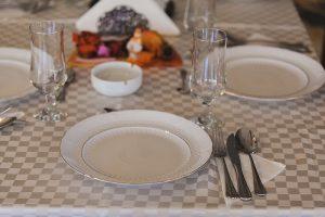 masa aranjata in restaurant