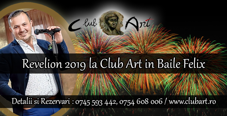 Revelion 2019 la Club Art in Baile Felix
