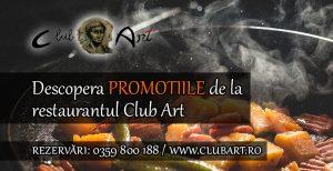 promotii restaurant club art