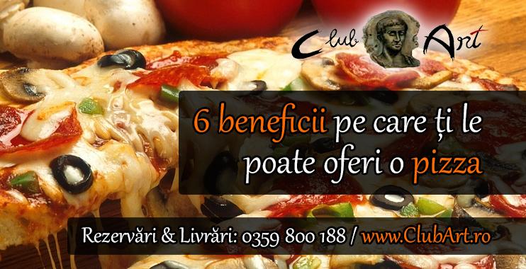 6 beneficii pe care ti le poate oferi o pizza