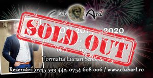 revelion 2019 - 2020 sold out